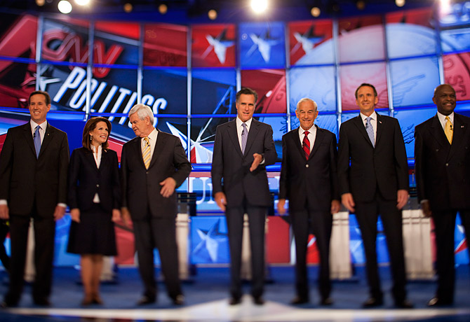 REPUBLICAN DEBATE: Why So Little Discussion of Wars? - TIME