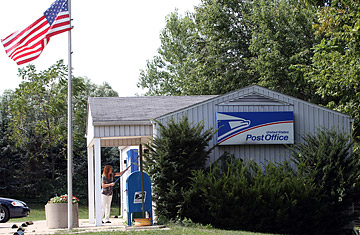Death of u s postal service many jobs locations at risk time - Post office us post office ...