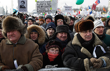 Time Person Of The Year >> Russians Rally for and Against Putin, Despite an Icy Day ...