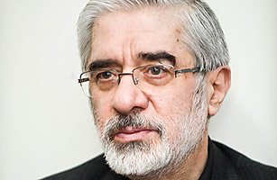 Iranian opposition leader Mir Hossein Mousavi photographed on Dec. 28, 2009 in Tehran 