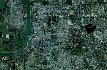 How Google Earth In India Can Fight Apathy Against Slums TIME - Earth map live satellite view