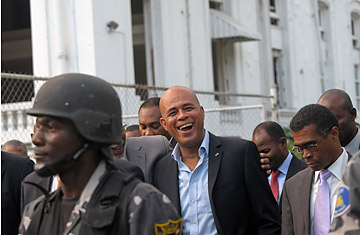 Year under martelly corruption controversy sidetracks haiti s360