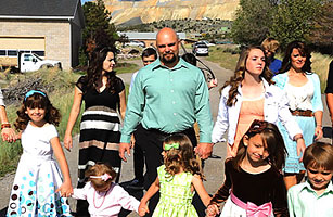 polygamy in america joe darger and his wives video time com
