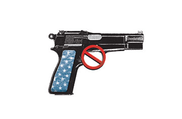 Anti-gun image from Internet