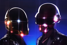 Electro-pop duo Daft Punk.