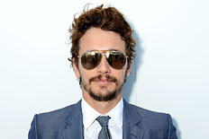 Actor James Franco attends the Vanity Fair and Chanel dinner during The 66th Annual Cannes Film Festival at Tetou Restaurant on May 19, 2013 in Cannes, France.