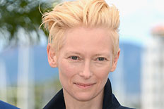 Tilda Swinton at Cannes