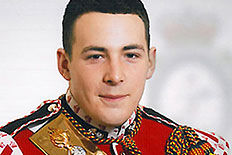 Drummer Lee Rigby, of the British Army's 2nd Battalion The Royal Regiment of Fusiliers, is seen in an undated photo released on May 23, 2013.