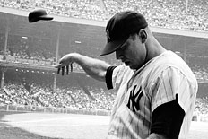Mickey Mantle by John Dominis