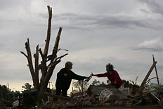 The Frantic Search for Survivors: Photos of Tornado Havoc in Moore