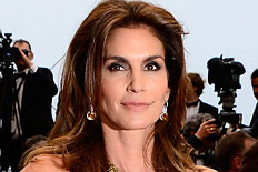 Cindy Crawford attends the Opening Ceremony and premiere of &#39;The Great Gatsby&#39; during the 66th Annual Cannes Film Festival at Palais des Festivals on May 15, 2013.
