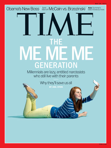 Time Magazine Cover Millennials