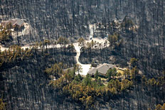 Major Wildfires Scorch Colorado©s Black Forest