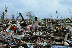 Typhoon Haiyan Cuts a Path of Destruction Across The Philippines
