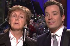 Watch Fallon Duet with McCartney on SNL