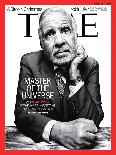 The Original Wolf of Wall Street Carl Icahn Returns