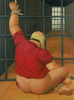 Botero Abu Ghraib 43, 2005 [TimeInc]