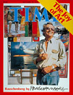Time Magazine covers by Robert Rauschenberg (4 framed)