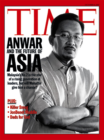 Time Magazine Cover Anwar And The Future Of Asia Oct 6