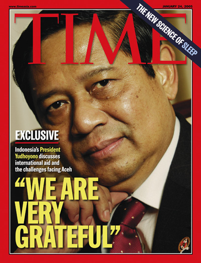 Exclusive: Indonesia's President Yudhoyono discusses international aid and the challenges facing Aceh