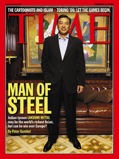 Indian tycoon Lakshmi Mittal may be the world's richest Asian, but can he win over Europe?