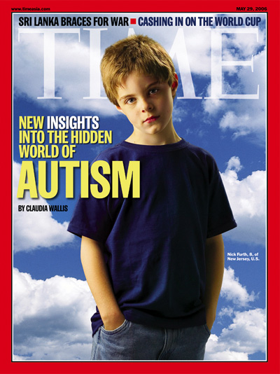 A photograph of an autistic boy.