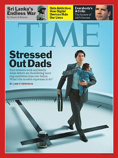 Torn between work and family, Asian fathers are shouldering more reponsibilities than even before. What's the modern superman to do?