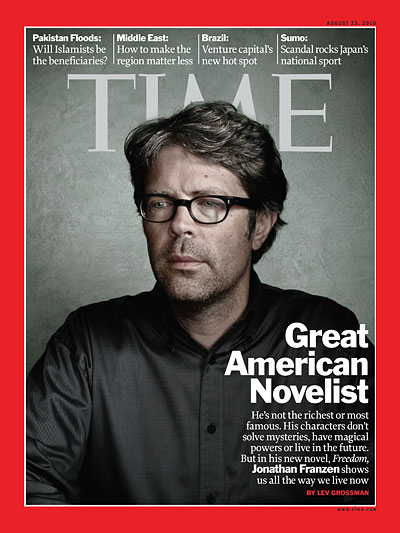 He's not the richest or most famous. His characters don't solve mysteries, have magical powers or live in the future. But in his new novel, Freedom, Jonathan Franzen shows us all the way we live now
