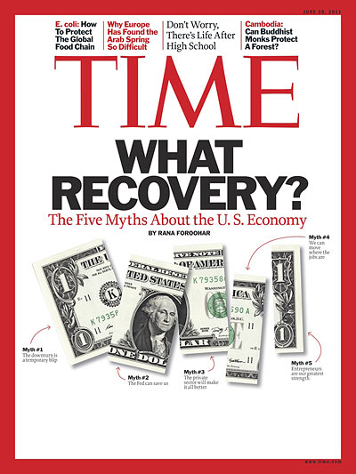 The five myths about the U.S. economy