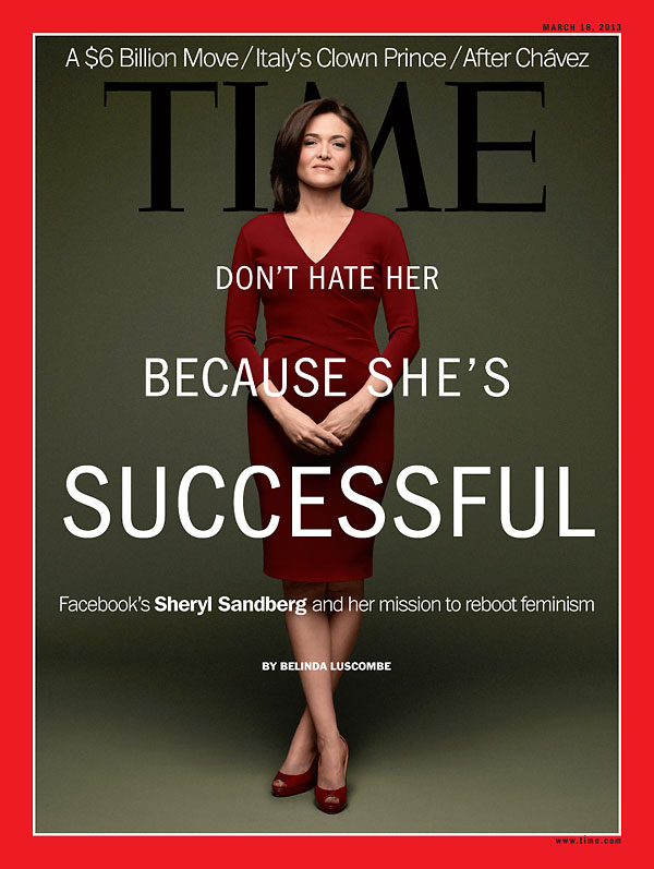 Photograph of Facebook COO Sheryl Sandberg
