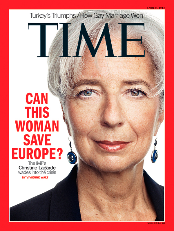 Photograph of IMF's Managing Director Christine Lagarde