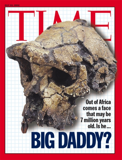 Out of Africa comes a face that may be 7 million years old.
