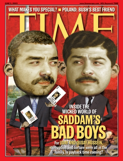 For Uday and Qusay Hussein, corruption and torture were all in the family. Is payback coming?