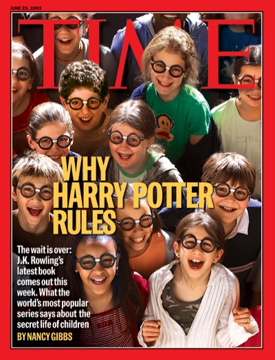 A photo of kids dressed like Harry Potter