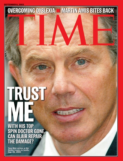 With his top spin doctor gone, can Blair repair the damage
