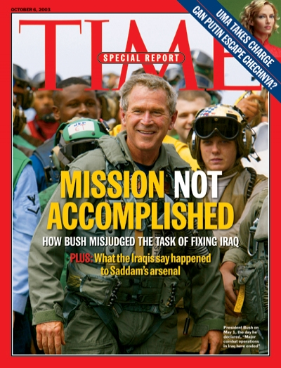 How Bush misjudged the task of fixing Iraq. Plus: What the Iraqis say happened to Saddam's arsenal