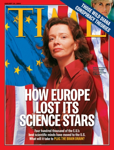 400,000 of the E.U.'s best scientific minds have moved to the U.S. What will it take to plug the brain drain?