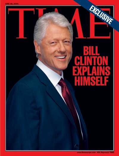 A picture of Bill Clinton