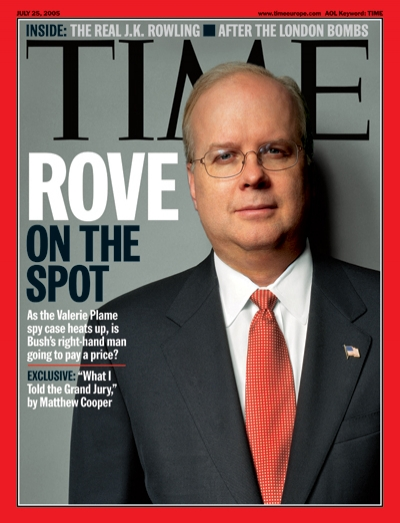 Picture of Karl Rove.