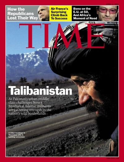 A photo of the profile of a member of the Taliban.
