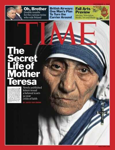 Portrait of Mother Teresa