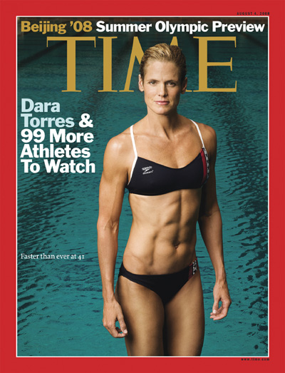 Portrait of Dara Torres