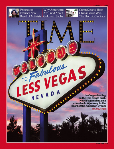 A picture of a Las Vegas sign.
