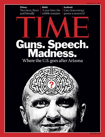 Jared Loughner with maze for brain