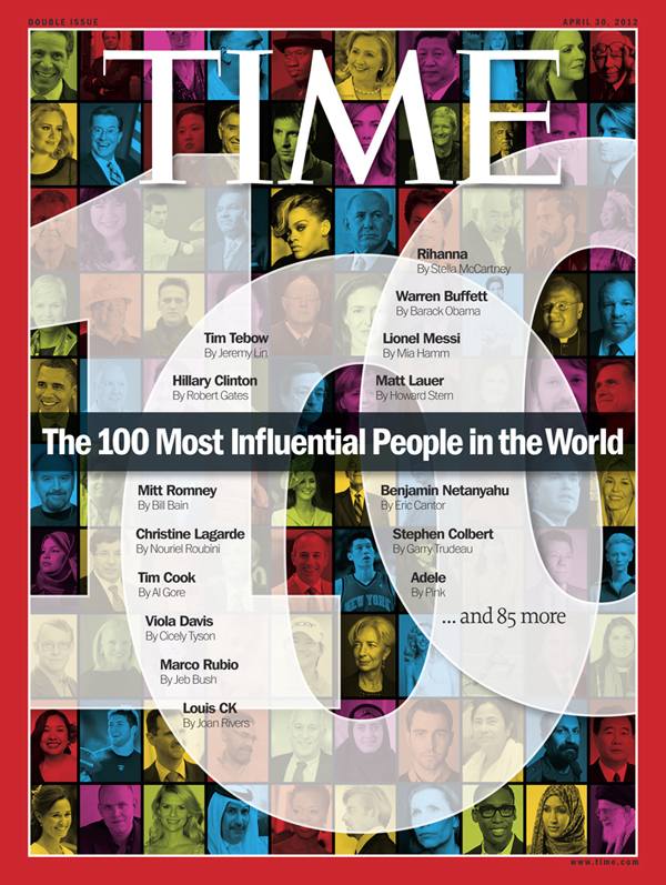 The annual TIME 100 issue