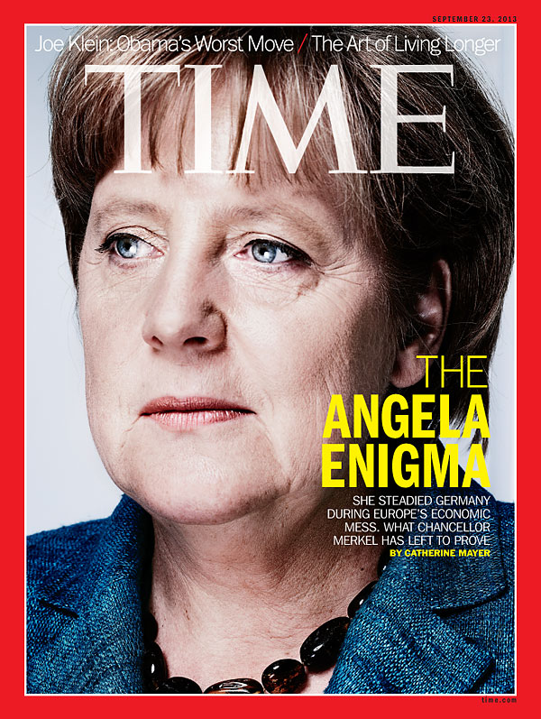 Photograph of Germany Chancellor Angela Merkel
