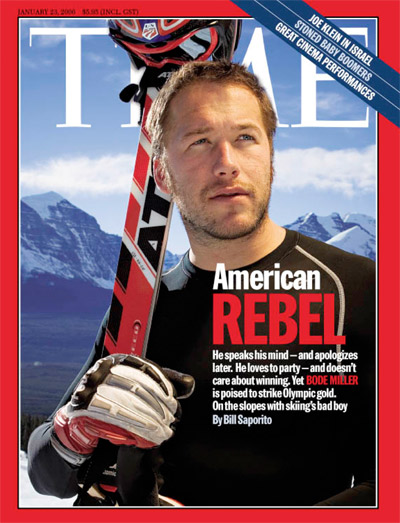 A portrait of Bode Miller
