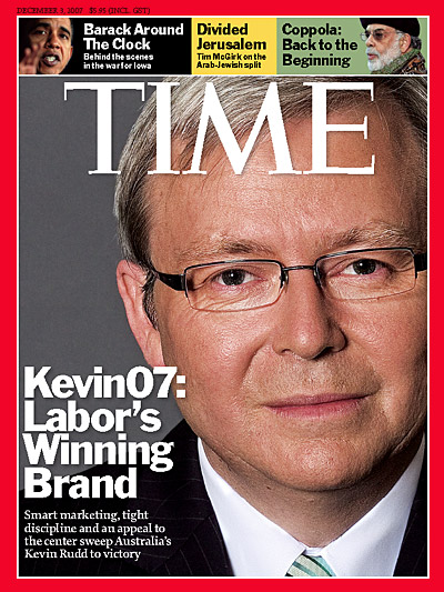 Close-up photo of Kevin Rudd