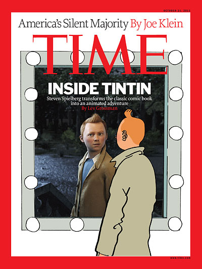 Portrait of Tintin