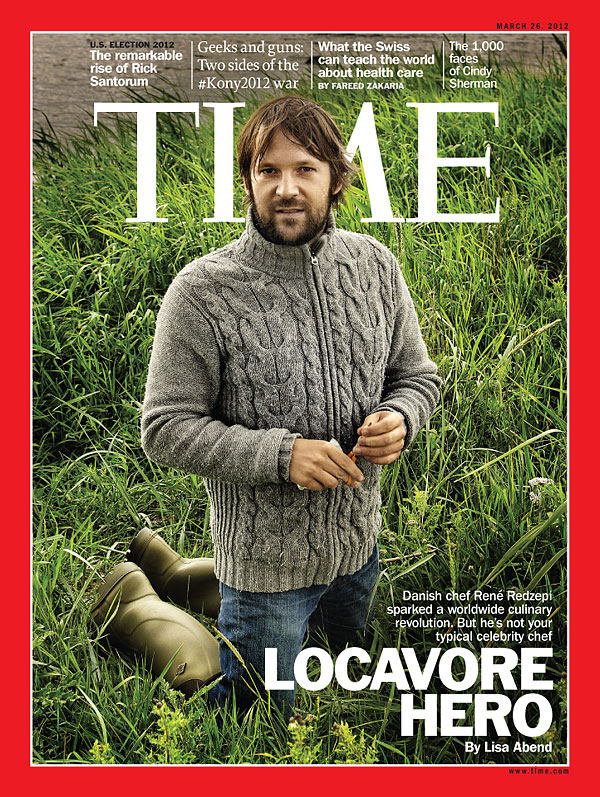 Close up of René Redzepi